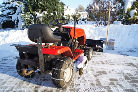 in readiness: winter tractor service