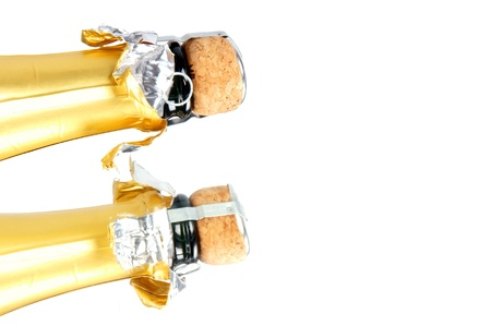 botella champagne: botella de champ�n