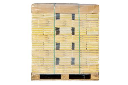 euro pallet: the euro palette Stock Photo