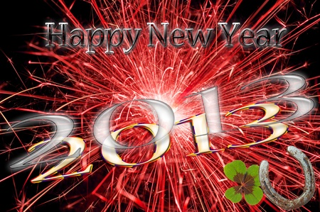 Happy New Year Stock Photo - 11768818