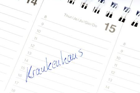 forgetfulness: calendars