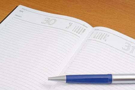 scheduling system: schedule planner Stock Photo