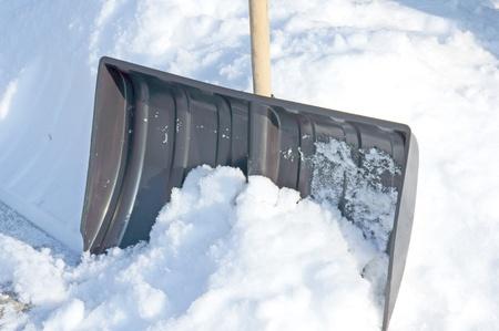 land slide: snow slide Stock Photo