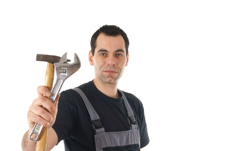 Craftsman with tools Stock Photo - 12673703