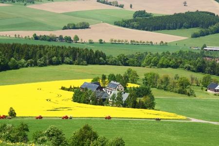 erzgebirge: Landscape Stock Photo