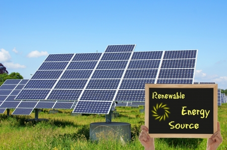 Renewable Energy Source Stock Photo - 13807904