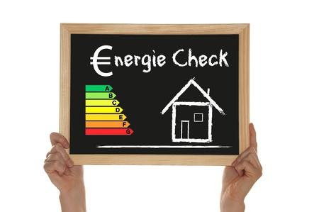 energy check Stock Photo
