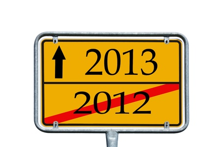 sign with 2012   2013 photo