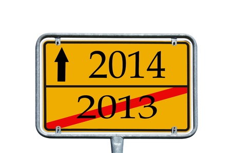 sign with 2013   2014 photo