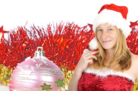enchanting: christmas angel Stock Photo