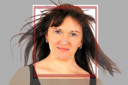 d�tection: d�tection de visage biom�trique