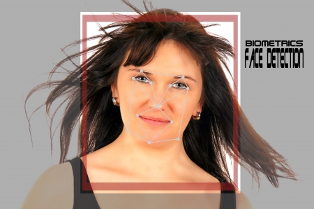 identifying: biometric face detection
