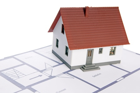 homeowners: small house with a floor plan