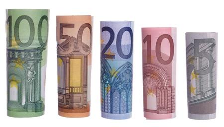 deposits: euro banknotes