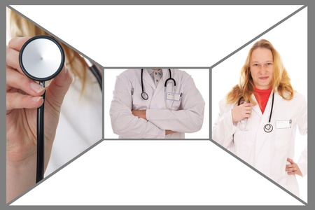 collage - doctor photo