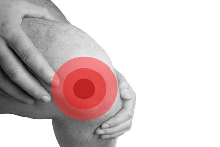 knee problems Stock Photo
