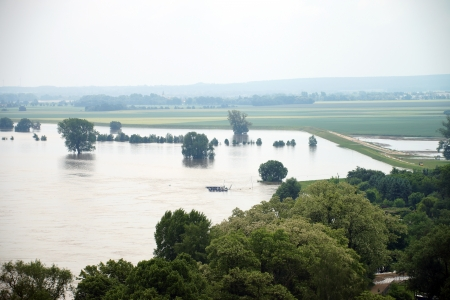 flood area: Flood - high water