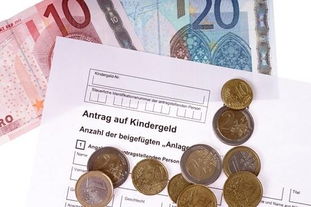 the request: german request for child benefit