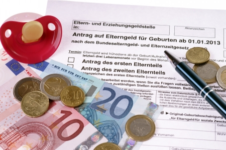 german request for parental benefits