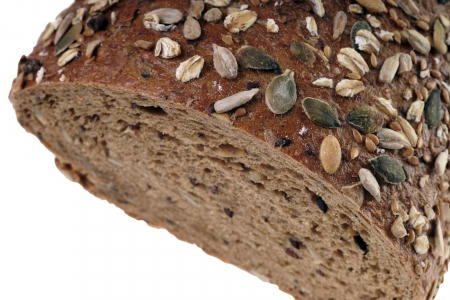 Wholemeal bread photo