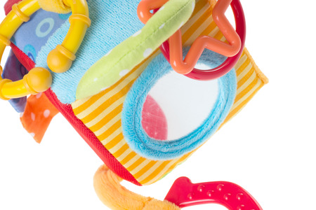 teether: Toys for babies Stock Photo