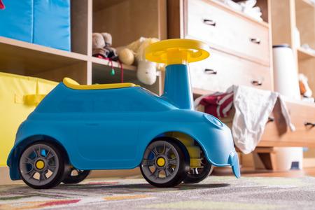 bobby: nursery with bobby car and baby stuff
