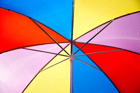 colorful umbrella photo