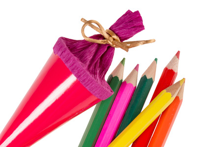 Sugar bag and crayons for Back to School photo