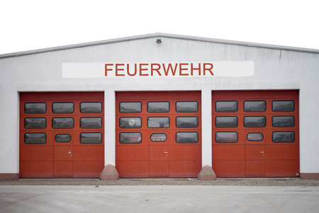 exits: Fire station with 3 exits