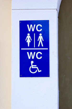 wheelchair users: Blue Shield toilet