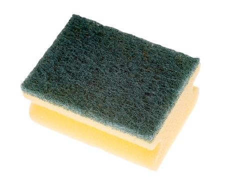 exempted: Sponge isolated on white background