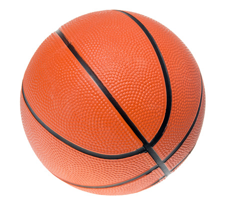 exempted: basketball isolated over a white background
