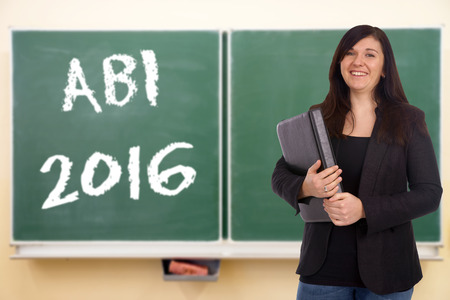 abi: Student and chalk board with ABI 2015