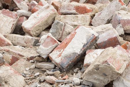rubble: Building rubble and stones