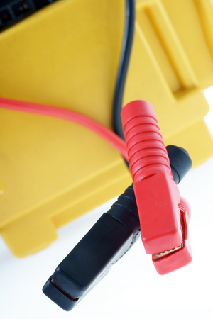 polarity: Battery jumper cable for a car