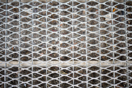doormat: Silver doormat grid