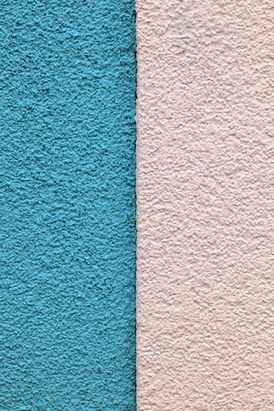 bicolor: bicolor Roughcast on a wall