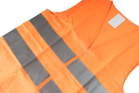 reflective: Safety vest with reflective stripes Stock Photo