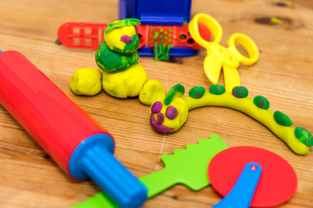tinkered: tinkered works from modeling dough