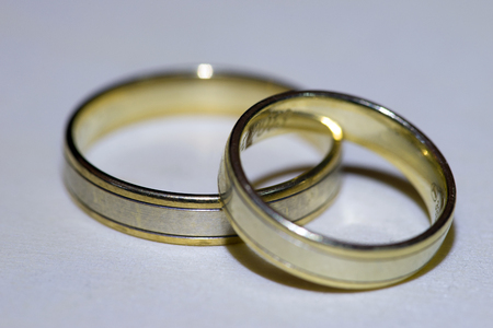 affiliation: two wedding rings for man and woman