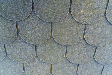 shingles: Roof shingles on a roof