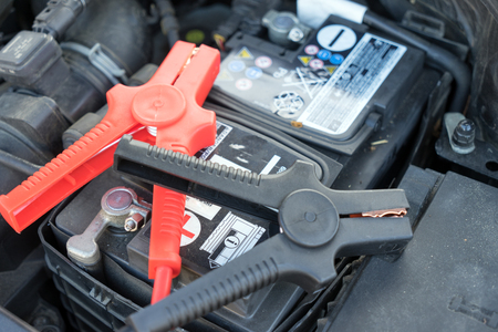 booster: Car battery and starter booster cable