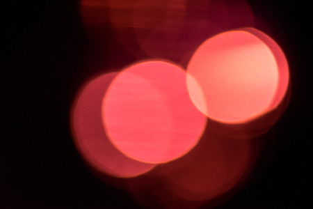 lambent: abstract and blurred red light Stock Photo