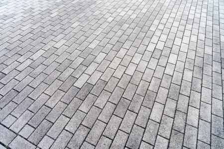 paving: many rectangular paving stones
