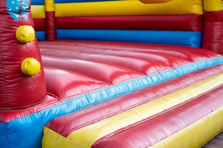 romp: colorful bouncy castle for children