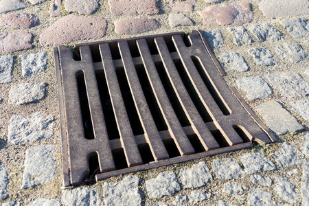 gully: Gully cover in a street