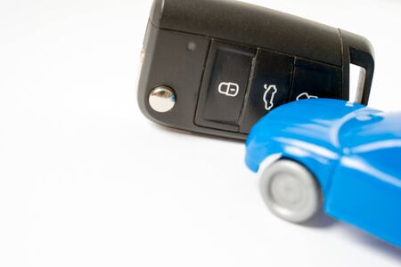 Car key and car
