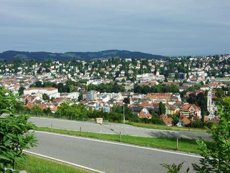 View of St. Gallen, Switzerland