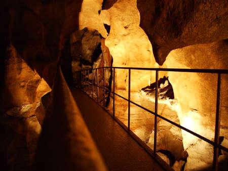 Cerovac Caves in the Velebit Nature Park, Croatia Banco de Imagens