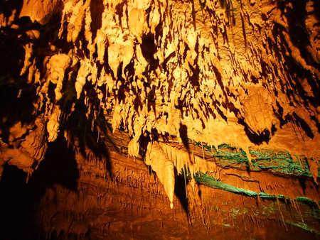 Vrelo Cave in the Gorski Kotar region, Croatia Banco de Imagens